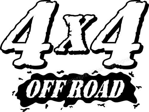 4x4 off road 4x4 off road 4x4 outline 4x4 solid
