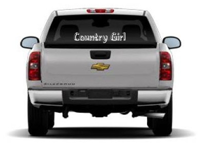 Country Girl Cowgirl Car Stickers Country Western Vinyl Window - Country girl custom vinyl decals for trucks