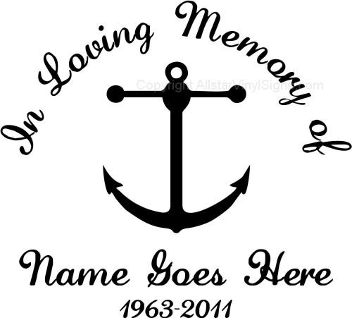 Boatinlovingmemoryofcarwindowdecalsjpg In - Window decals in memory of