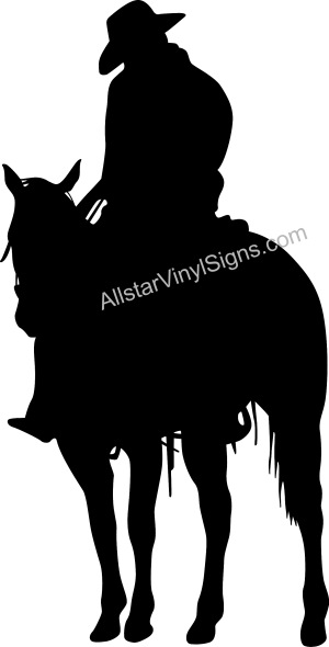 Cowboy Decals For Trucks - Horse decals for trucks