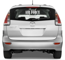 Military Car Stickers Air Force Army Marine And Navy Vinyl - Military window decals for cars
